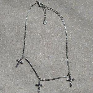 Jewelry - Three Cross Pendant Necklace